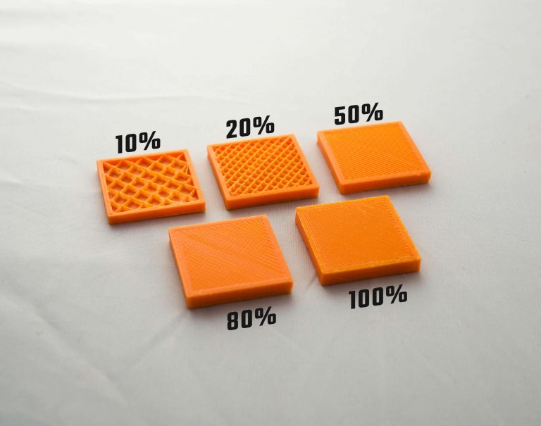O que é o Preenchimento de uma Impressão 3D?