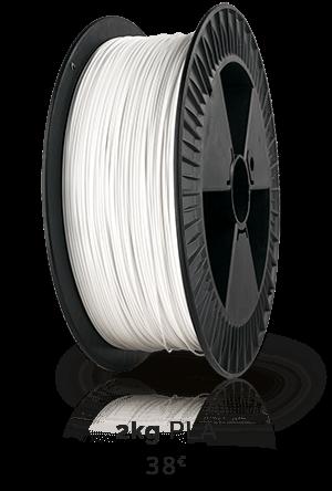 Filamento 2kg branco marca Impressão 3D Portugal