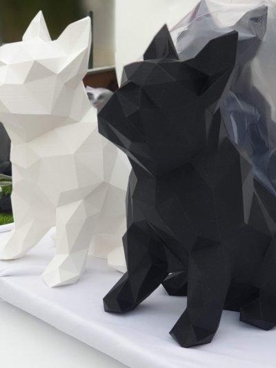 Bulldog Francês – Estátua
