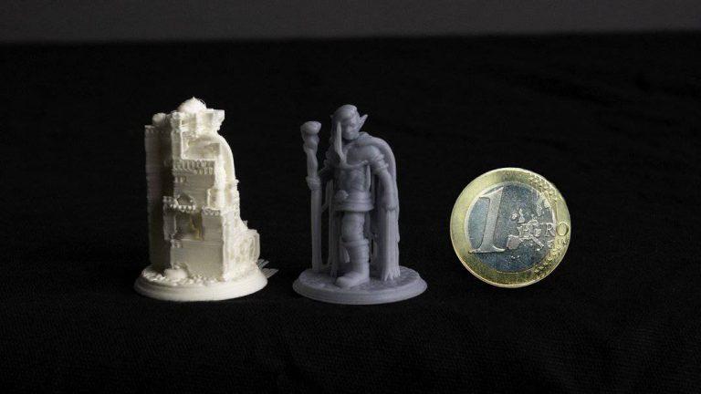 FDM vs Resina – Uma comparação em Figurines